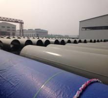 ASTM A671 LSAW Pipes for Bangladesh Capital International Subway
