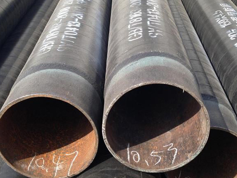 ASTM A671 CD80 LSAW steel pipeline