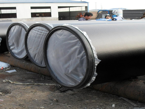 ASTM A671 CJ103 LSAW steel pipeline