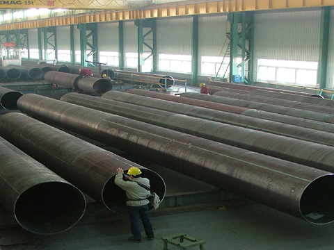 GB/T 3091-2008 Q235B welded steel pipes